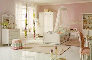 Dětský a studentský nábytek pro holku Romantic