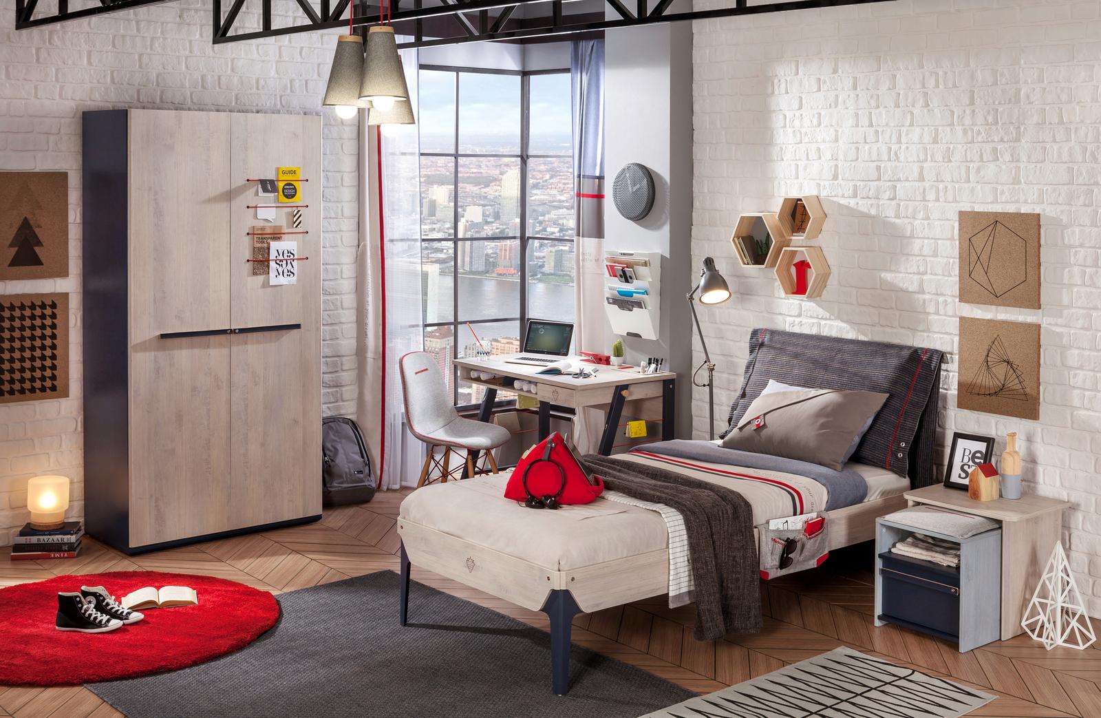 Moderní studentský nábytek Trio