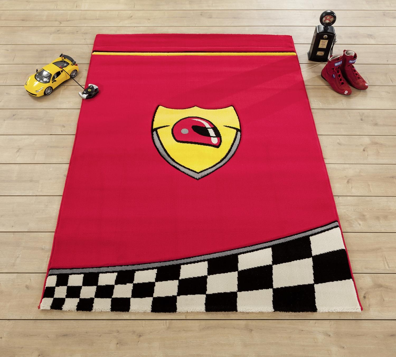 detsky-koberec-champion-cerveny