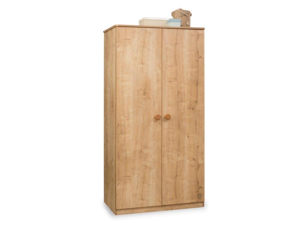Šatní skříň dvoudveřová Mocha
