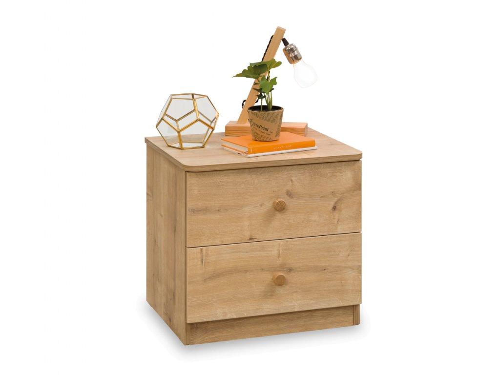 Noční stolek Mocha