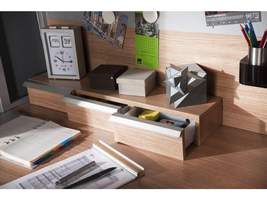 Zásuvky k psacímu stolu Positive SLP-1506