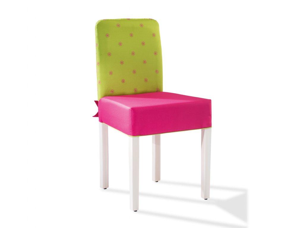 Židle s mašlí