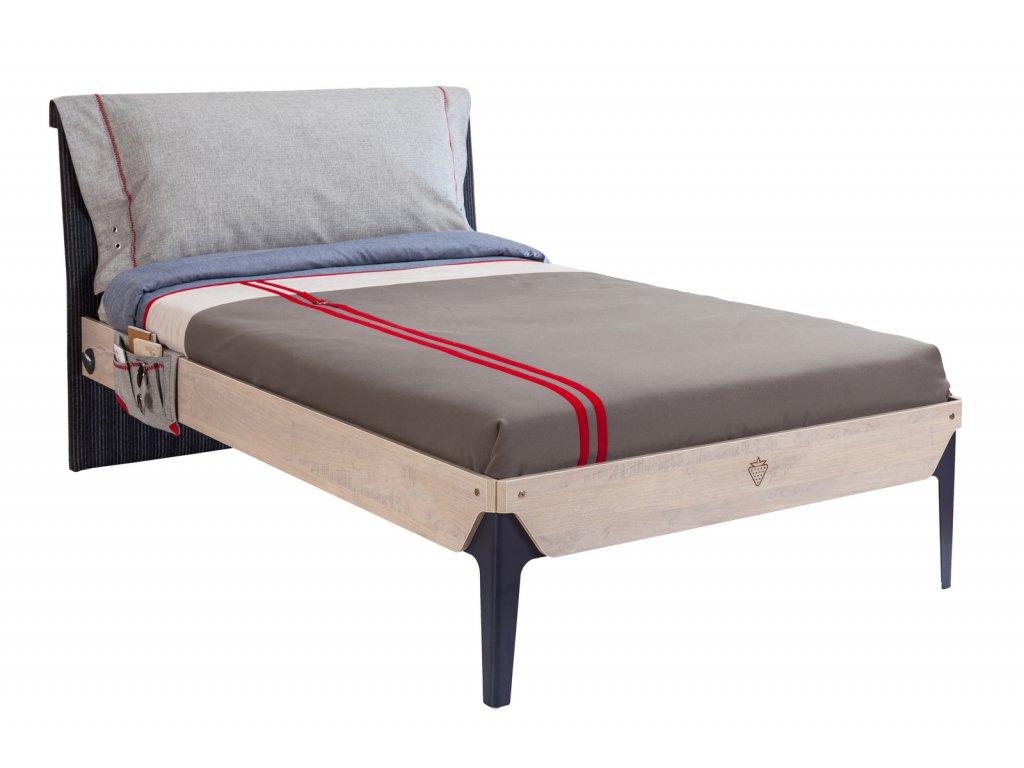 Studentská postel 120x200 cm Trio
