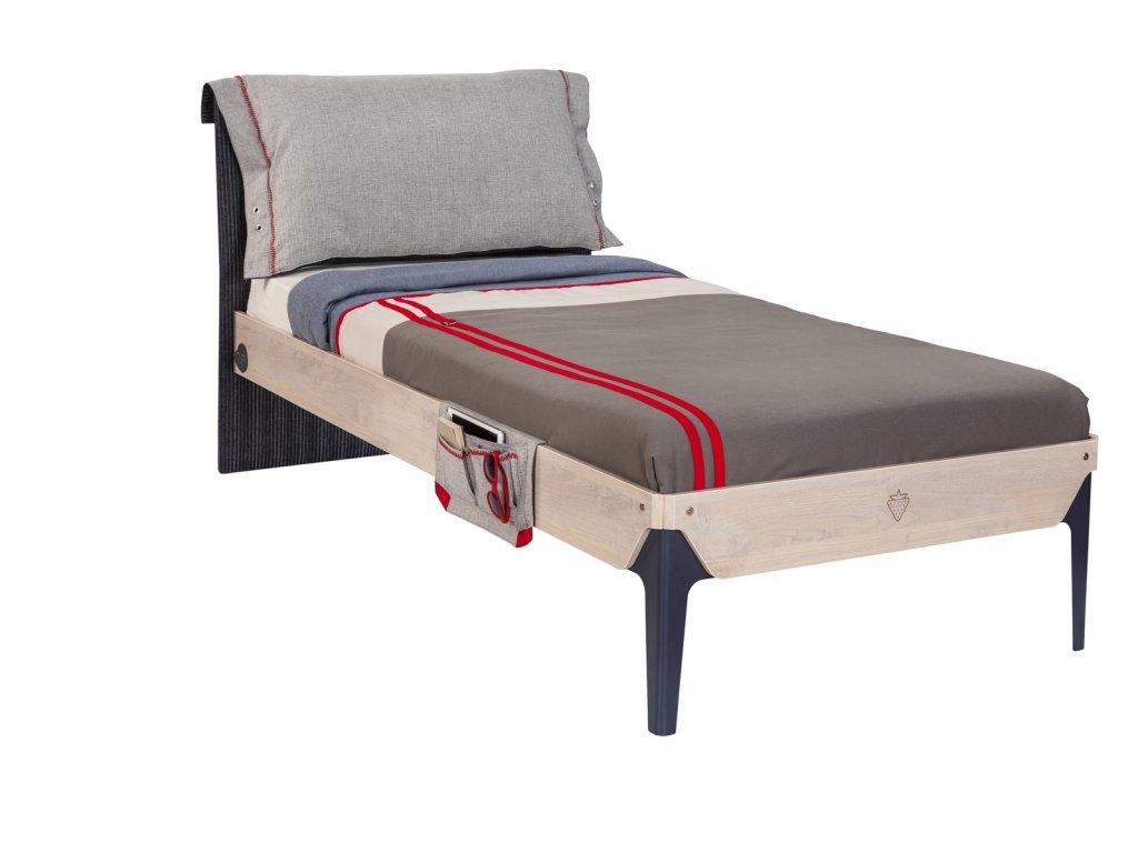 Studentská postel 100x200 cm Trio