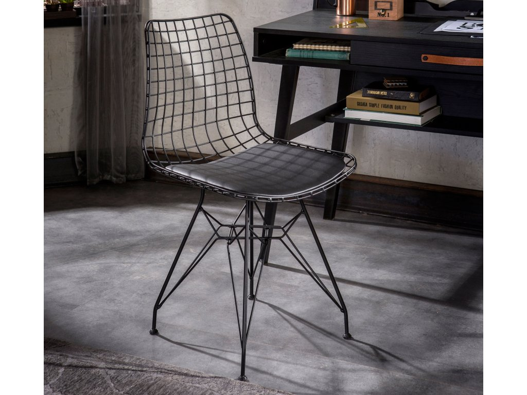 Studentská židle Dark Metal