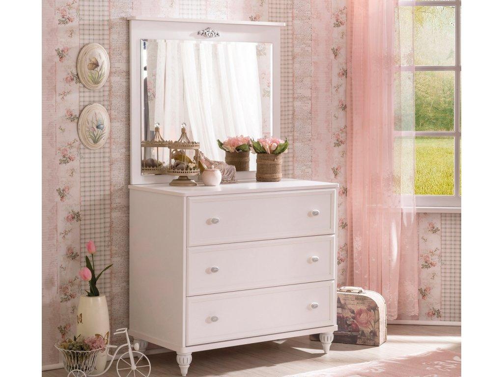 Zrcadlo ke komodě standard Romantic