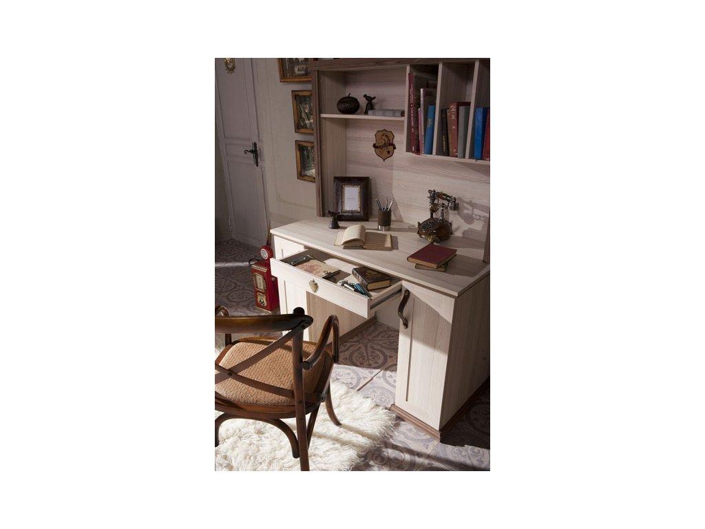 Studentský psací stůl s nástavcem Royal