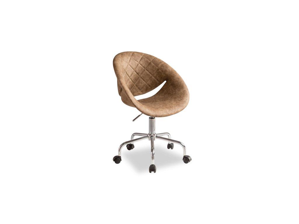Židle Relax kávová