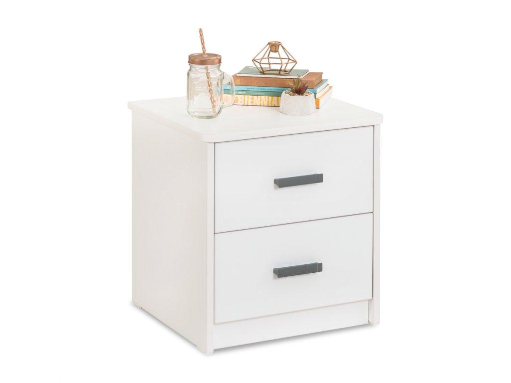 Studentský noční stolek White