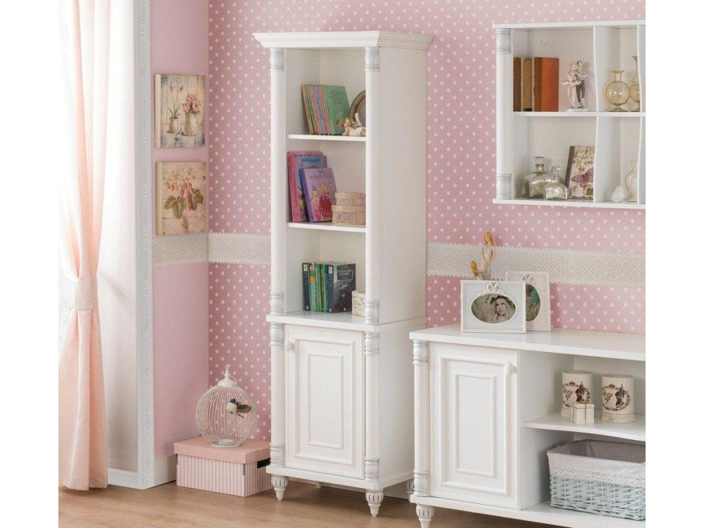 Knihovna do dětského pokoje Romantic