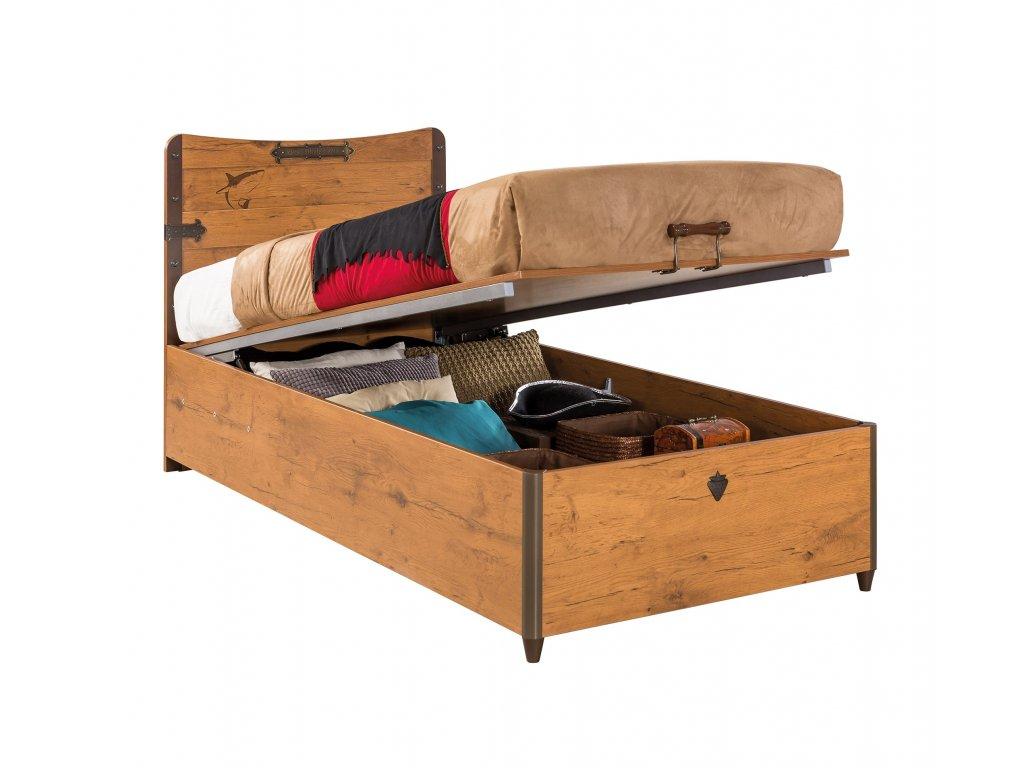 vyklopna postel 90x190cm pirate