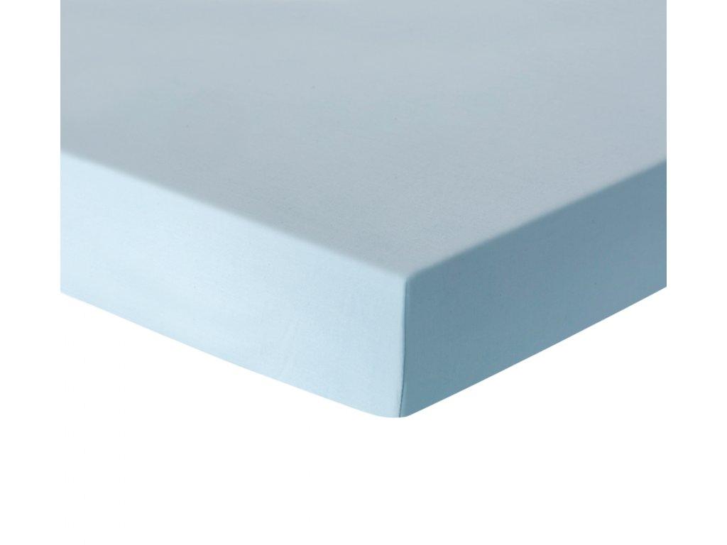 Prostěradlo modré 100x175 cm