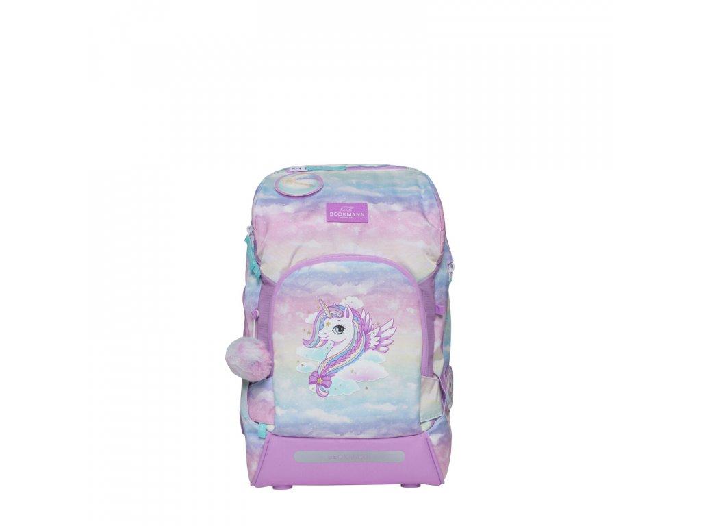 skolni batoh pro prvnacka purple unicorn