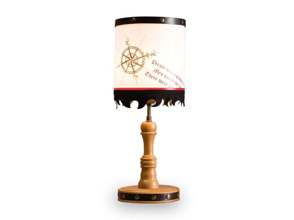 Dětská stolní lampa Pirate
