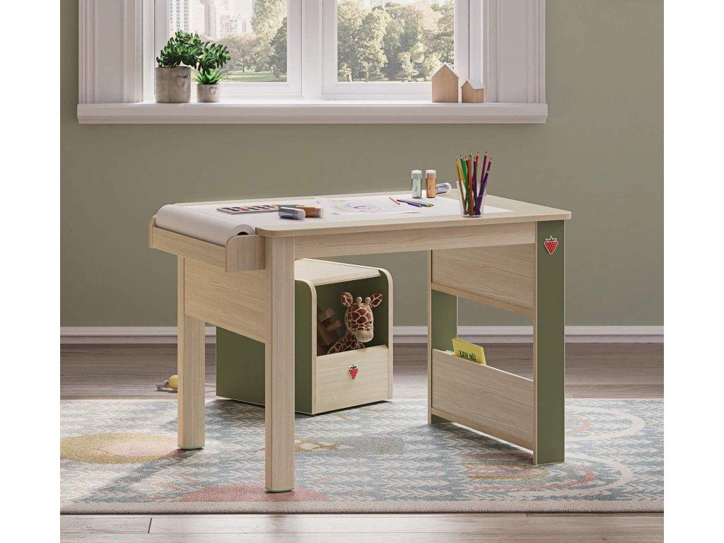 box na hracky a taburet montessori 20.68.1901.00