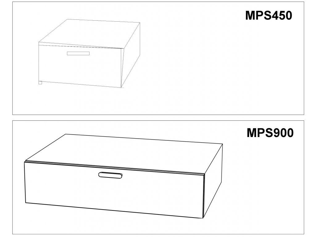 Skříňka nízká Max-i MPS