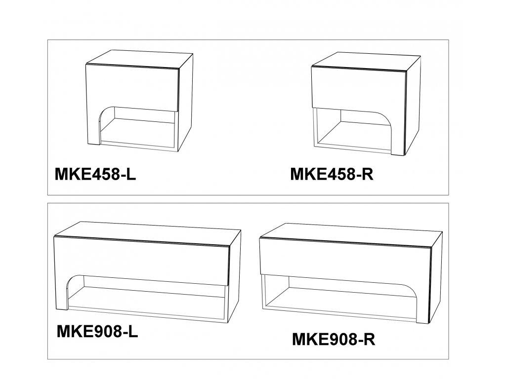 Noční stolek Max-i MKE