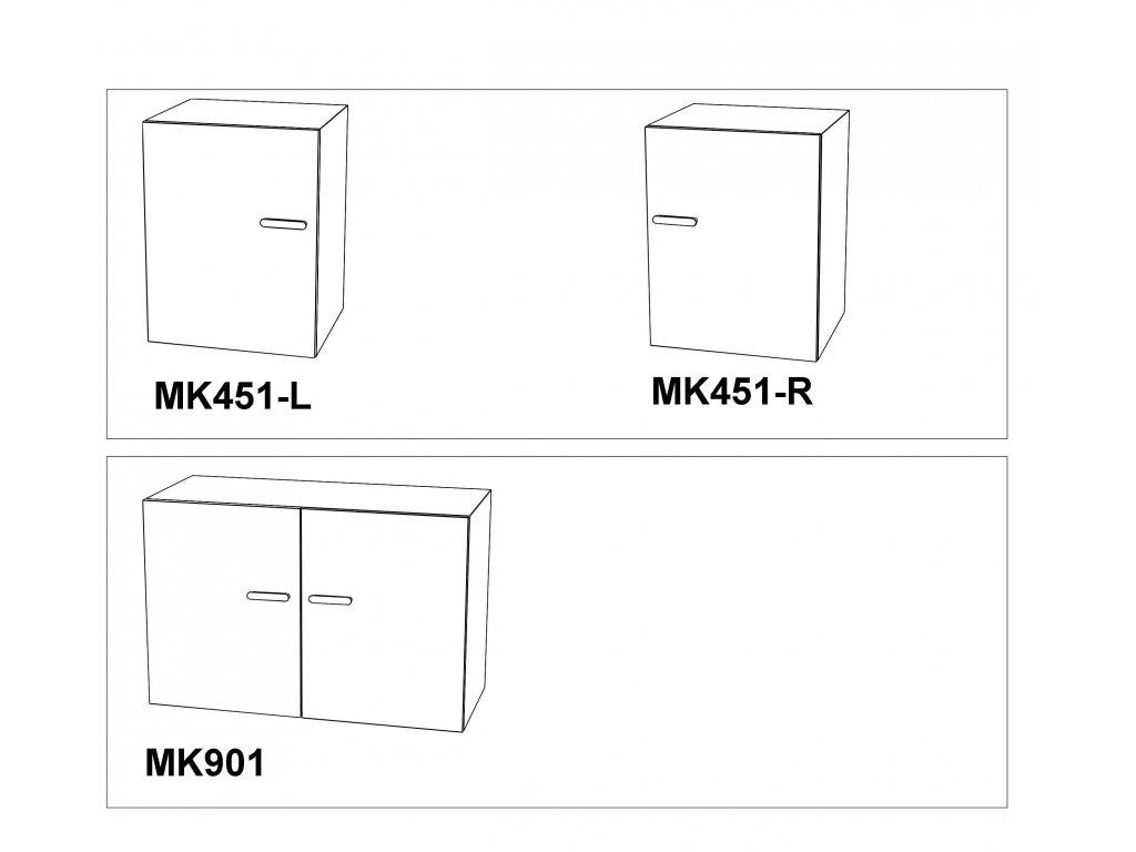 Skříňka Max-i MK