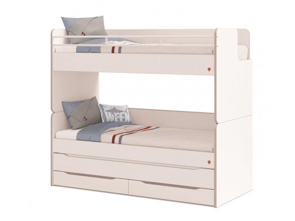 postel pro tri deti zabrik