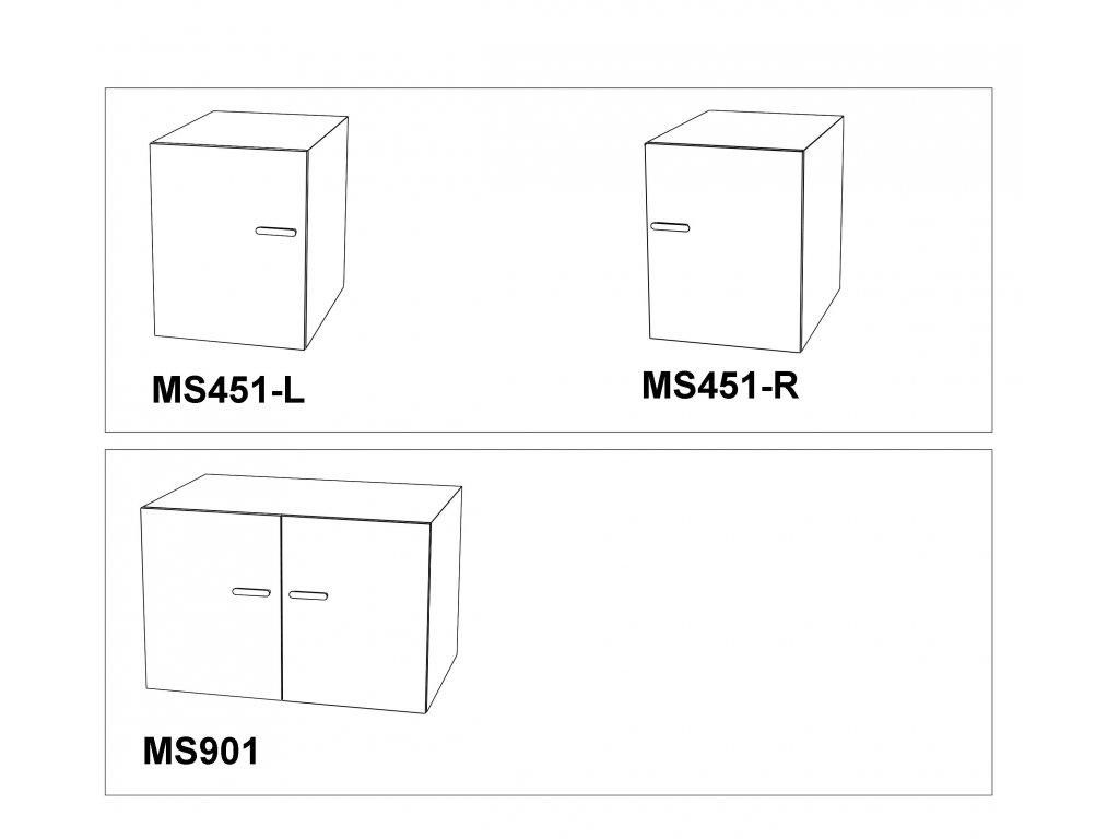 Skříňka Max-i MS