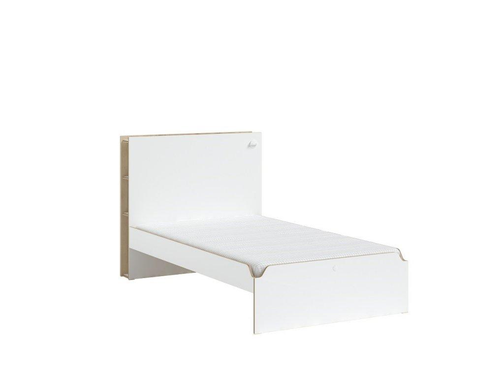 postel 120x200 modera