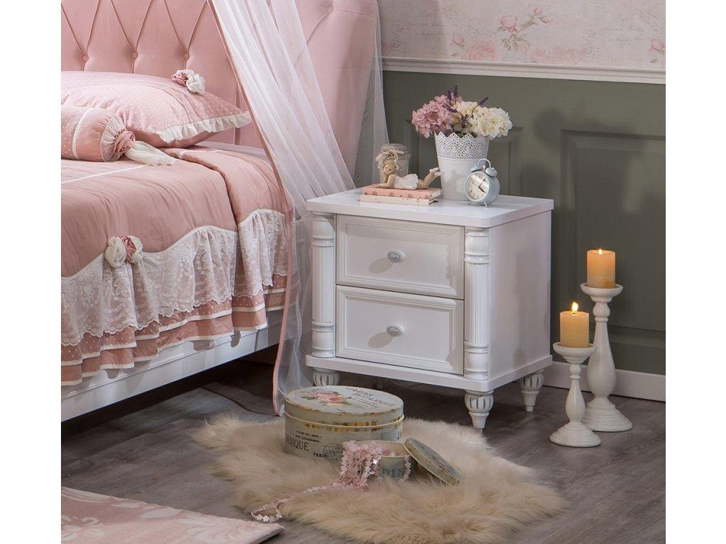 Dětský noční stolek Romantic