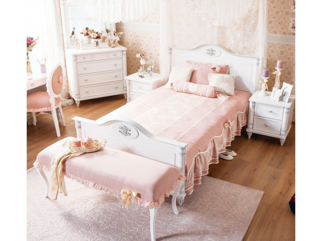 Studentská postel 120x200 cm Romantic