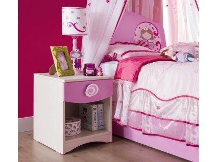 Dětský noční stolek SL Princess