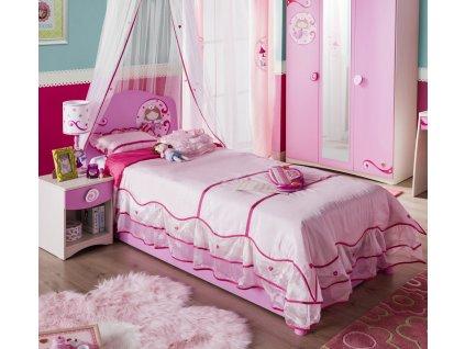 Dětská postel 90x200 cm SL Princess