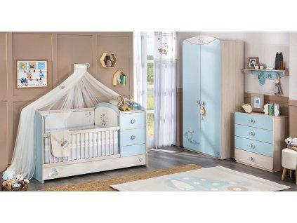 Dětský pokoj pro miminko Baby Boy