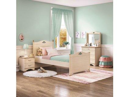 Studentská postel 100x200 cm Flora