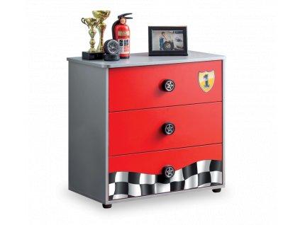 Dětská komoda Racecup