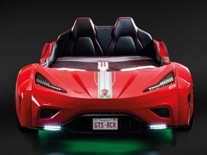 GTS auto postel pro dite cervena