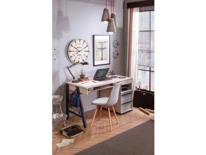 Studentský psací stůl s nástavcem velký Trio