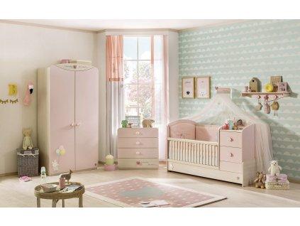 Dětský pokoj pro miminko Baby Girl
