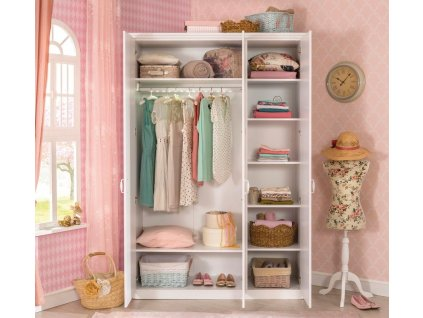Dětská šatní skříň třídveřová Selena