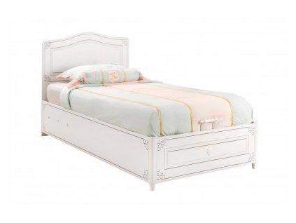 postel s uloznym prostorem selena