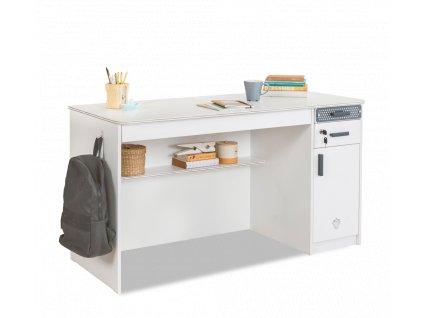 Studentský psací stůl větší White