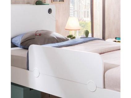 Dětská bočnice k posteli White