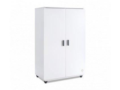Dětská šatní skříňka White compact