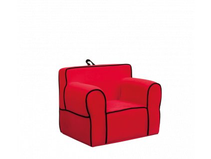 kreslo pro deti cervene