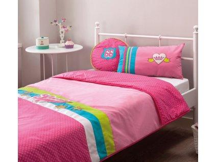Přehoz na postel BiPinky (90-100 cm)