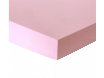 Prostěradlo růžové 100x175 cm
