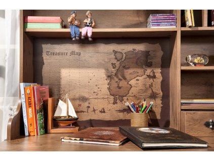 Nástavec k psacímu stolu Pirate