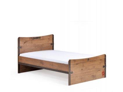 Dětská postel 120x200 cm Pirate