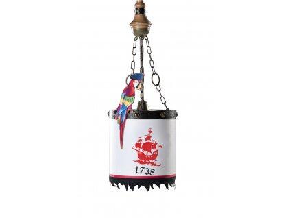 Dětský lustr Pirate
