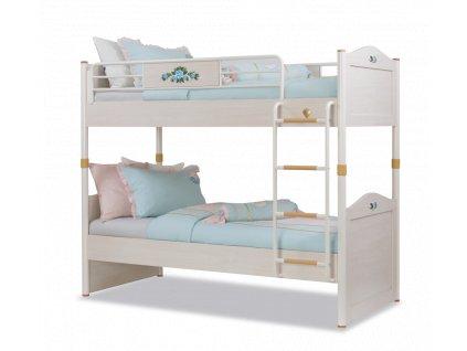 Studentská patrová postel 90x200 cm Flora