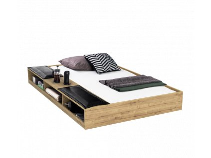pristylka s uloznym prostorem wood metal