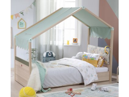 detska postel se strechou montessori 21.04.4420.00 2
